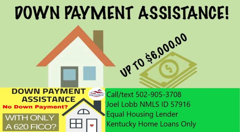 $6,000 Down Payment Assistance for Kentucky Home Buyers