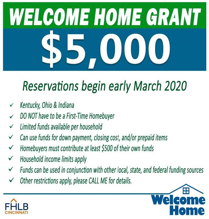 5000 grant welcome home