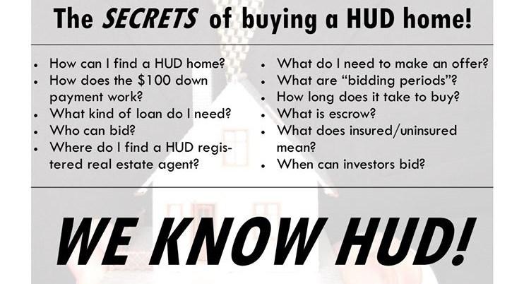FHA $100 DOWN HUD HOME PROGRAM IN KENTUCKY