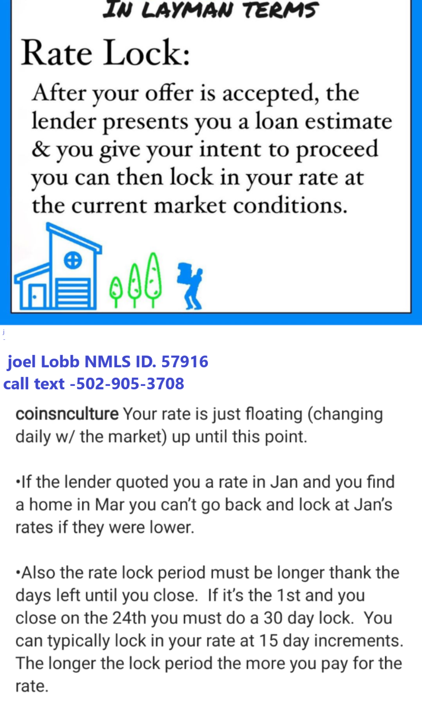 Kentucky Mortgage Rate Lock Terms